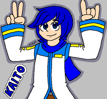 KAITO finger horns by mitchika2