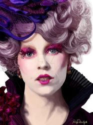 Effie Trinket (The Hunger Games Series) by yuki04