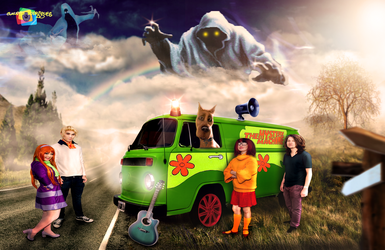 Scooby Doo and The Mistery Machine by claudiofr31
