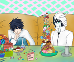 L: A Treat For Ulquiorra by veggwhale