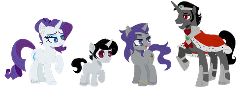 Somarity family [MLP NG] by Space-Klown
