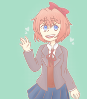 DDLC:Sayori by DeadCatBox