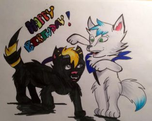 Happy Birthday Kerry and Kaitlin!  by Purpiy