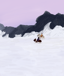 At The Top of These Mts by magikwolf