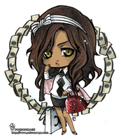 :chibi for TheRealTriplesix: by rann-poisoncage