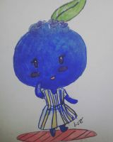 Plantinktober - Blueberry by chibipanda25