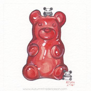 Gummy Bear by PocketPandasArt