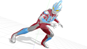 [REL/DL] MMD ULTRAMAN GINGA MODEL by MezzalunaJyuu