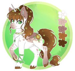 Spring Flower - Adoptable by SerenityScratch