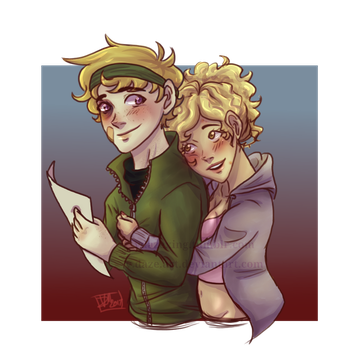 Kenny and Bebe by vdaze-art