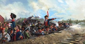 The Valle Brothers at the defense of St Louis by Mitchellnolte