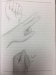 Sorry its on line paper- Hand Study by AntiLucky