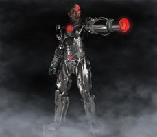 Cyborg DC Comics by hiram67
