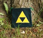 New and improved Triforce drawstring/dice bag! by WhimsicalSquidCo