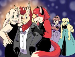 Latrans Commission: Crashing Prom by Ellen-Natalie