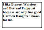 Stamp about Bravest Warriors and Bee and Puppycat by MarcosPower1996