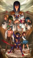 Kill La Kill by Beverii