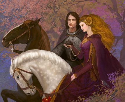 Guinevere and Lancelot by Julaxart