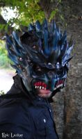Leather Leviathan Mask by Epic-Leather