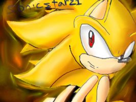 Super sonic by SonicStarz1