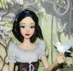 Disney's Snow White Ooak Doll Repaint by DaisyDaling
