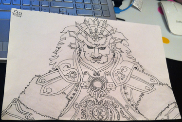Hyrule Warriors Demon King Ganondorf Dec 2014 by ForestKitty22
