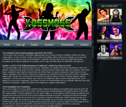 Party Template 01 by Rizl4