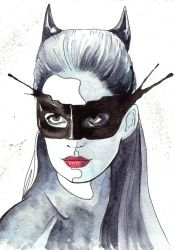 Catwoman by bookstoresue
