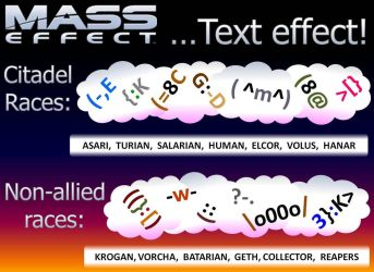 Mass Effect - Text Effect! (old) by TreeWyrm