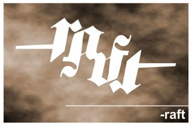 raft ambigram by sluwsluw