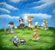 BB: April Showers Prompt by ArcticHalo