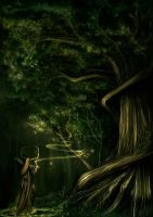 Tree of Spirits by enmi