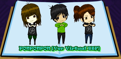 Virtual Friends by ArellLP