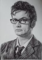 David Tennant  by Ginchilla194