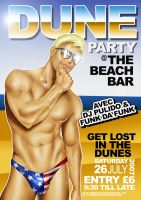Dune Party Flyer by Dendrilite