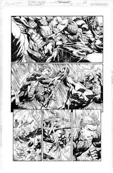 AQUAMAN Issue 13 Page 15 by JoePrado2010