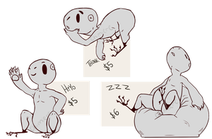 Grem2 YCH Chibis by Chimiere