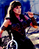 Lucky Catch? Xena by TheConDar