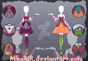 [OPEN 1/2] Design Adopt Outfit - 17 by MhaxiR
