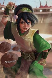 The Blind Bandit, Toph Beifong by RossoWinch