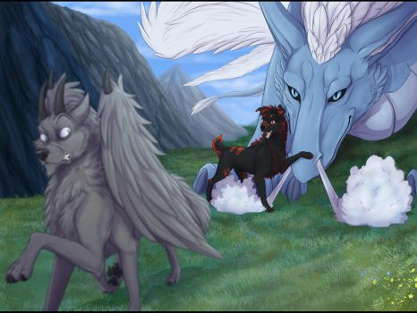 YCH - Meet my new friend (view 2) by Do-El