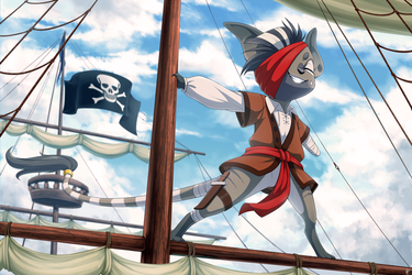 Com: A Pirate's Life for Me by Seyumei