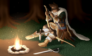 -Commission- Sieghart(FurAffinity) by Nukude