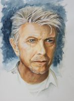 Bowie - tribute (SOLD) by Harmony1965
