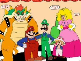 Super Mario Group by CountBedlam