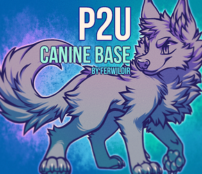 P2U Canine Base by Ferwild-Adoptables