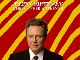 Happy Birthday Christopher Walken! by Nolan2001