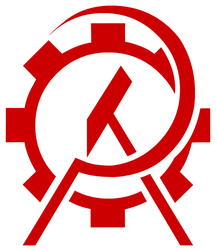 Anarcho-Communist stencil by Domain-of-the-Public