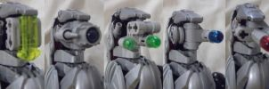 Bionicle Moc: TA-C21 All Faces by lbpfan21