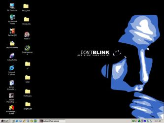 Don Blink Desktop by springapple